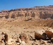 Rim 墙的沙漠大峡谷 — 图库照片