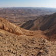 The Large Fin ridge in the Large Crater (Makhtesh Gadol) in Israel's N — Stock Photo