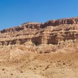 Rim wall of Makhtesh Katan crater in Israel's Negev desert — Stock Photo