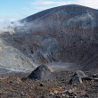 Grand (Fossa) crater of Vulcano island near Sicily, Italy — Stock Photo