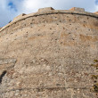 Stock Photo: Round bastion of medieval castle in Milazzo, Sicily