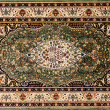 Arabic rug with floral pattern — Stock Photo #8938804