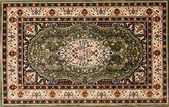Arabic rug with floral pattern — Stockfoto