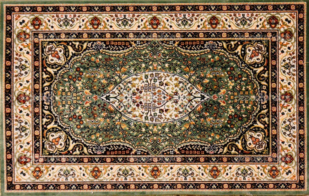 Arabic Rug With Floral Pattern Stock Photo 169 Slavapolo