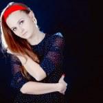 Young teenager girl — Stock Photo