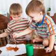 Cute boys are painting — Stock Photo #8893690
