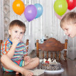 Birthday party — Stock Photo #9354447