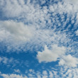 Blue sky with a white clouds — Stock Photo #10054540