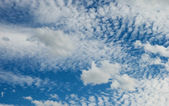 Blue sky with a white clouds — Stock Photo
