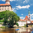 Old city in Cesky Krumlov — Stock Photo