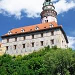 Castle in Cesky Krumlov. Czech Republic — Stock Photo