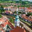 View Cesky Krumlov — Stock Photo