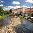 Stock Photo: Cityscape of Cesky Krumlov