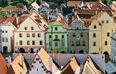 Historic houses in Cesky Krumlov — Stock Photo