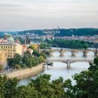 Bridges in Prague — Stock Photo