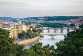 Bridges in Prague — Stock Photo