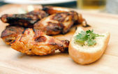 Chicken winglets — Stock Photo