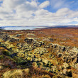 Stock Photo: Thingvellir national park