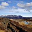 Thingvellir national park — Stock Photo