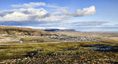 Icelandic village, Hveragerdi — Stock Photo