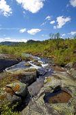Montanhas norueguesas — Foto Stock
