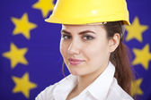 Booming european industry — Stock Photo