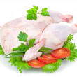 Stock Photo: Raw chicken