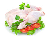 Raw chicken — Stock Photo