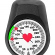 Stock Photo: Blood pressure monitor scales