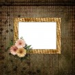 Vintage background for invitation and photo. — Foto Stock