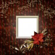 Frameworks for photo. The vintage christmas composition. — Stock Photo #8021624