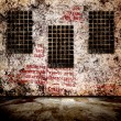 Grunge interior with scratch wall. Background for a design. — Stock Photo #8103262