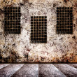 Grunge interior with scratch wall. Background for a design. — Stock Photo