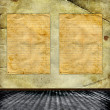 Stock Photo: Framework for invitations on the vintage background.