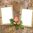 Frameworks for photo. The vintage abstract background. — Stock Photo