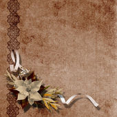 Vintage background for invitation and photo. — Stock Photo
