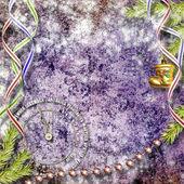 抽象的なクリスマス背景に招待のためのフレームワーク. — ストック写真