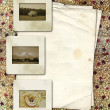 Framework for a photo or congratulation. Abstract vintage backgr — Stockfoto