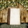 Royalty-Free Stock Photo: The vintage background with a old album.