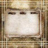Tarjeta de felicitación o invitación al fondo abstracto. — Foto de Stock