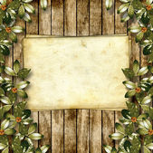 Card for greeting or invitation on the abstract background with — Stock Photo
