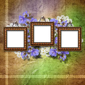 Vintage framework for invitation or congratulation. — Stock Photo