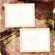 Stock fotografie: Framework for a photo or congratulation. Abstract paper backgrou