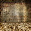 The old room. Grunge abstract background for a design. — Stock Photo