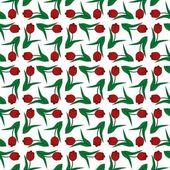 Бесшовный фон с тюльпанами — Cтоковый вектор