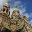 Church on Spilled Blood, St. Petersburg - 图库照片