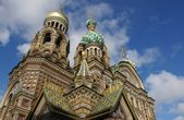 Church on Spilled Blood, St. Petersburg — Stock Photo