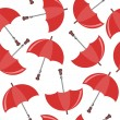 Seamless background with umbrellas — Stockvectorbeeld