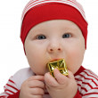 Cute baby boy — Stock Photo #9513127