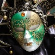 Traditional colorful Venice mask - Stock Photo